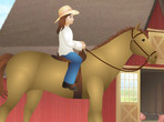 Barbie Horse Ride