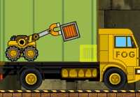 Play Cargo Towing Tractor