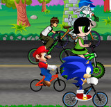 Play Cartoon Bike