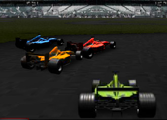 Play Green Formula Car