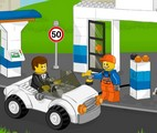 Play Lego Gas Station