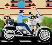Play Police Motorcycle
