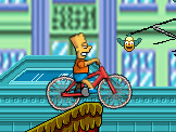 Play Simpsons Bike