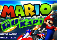 Play Super Mario Go Kart
