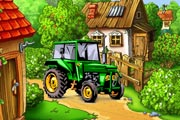 Play Tractor Hidden Object