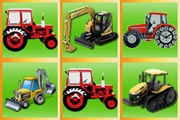 Play Tractor Matching Pairs