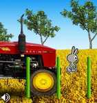 Play Tractor Vs Rabbits