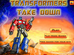 Play Transformers Take Down