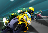 Play Yellow Motorcycle